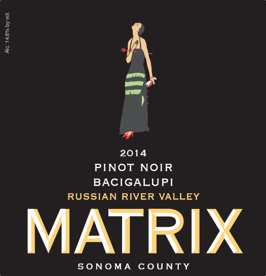 2014 Pinot Noir - Bacigalupi Vineyard Image