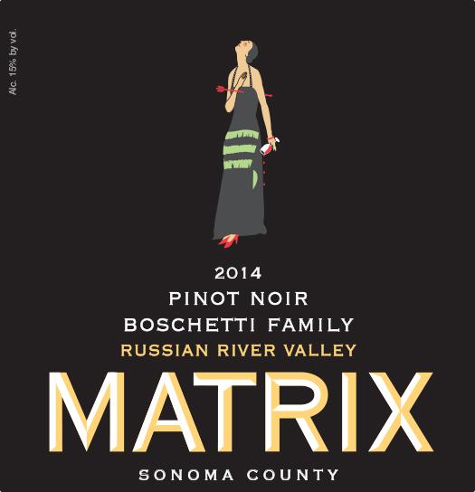 2014 Pinot Noir - Boschetti Family Vineyard Image