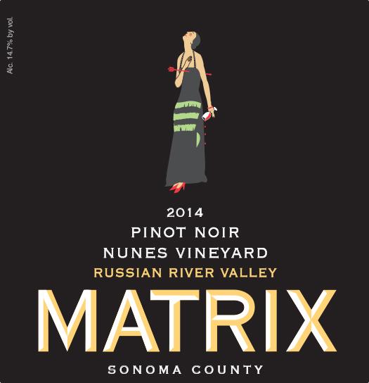 2014 Pinot Noir - Nunes Vineyard Image