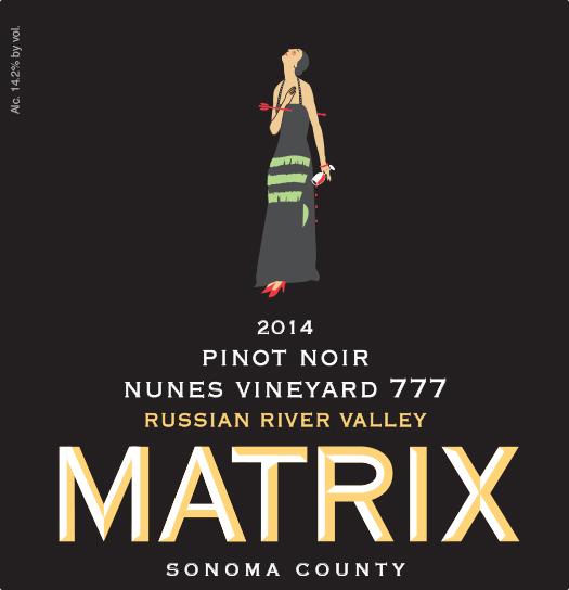 2014 Pinot Noir - Nunes 777 Block Image