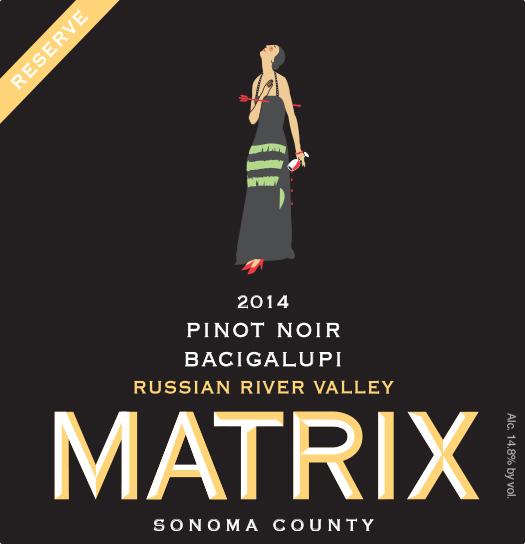 2014 Pinot Noir Reserve - Bacigalupi Vineyard Image