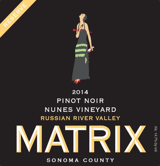 2014 Pinot Noir Reserve - Nunes Vineyard Image