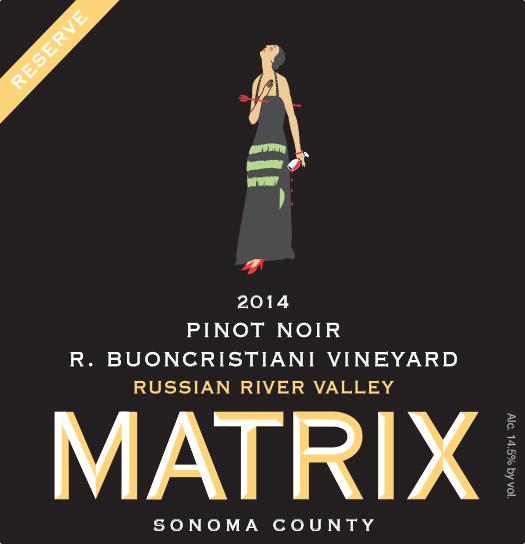 2014 Pinot Noir Reserve - R. Buoncristiani Vineyard Image