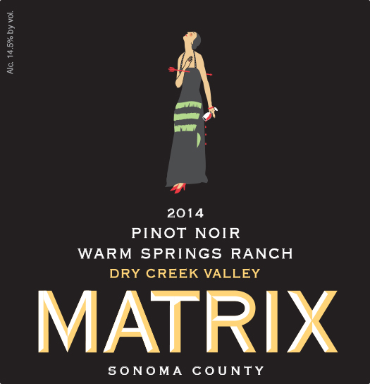 2014 Pinot Noir - Warm Springs Ranch Image